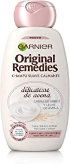 Garnier Original Remedies Champú, Délicatesse De Avena, Cabello Sensible - 250ml