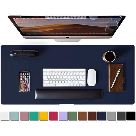 UK Modern Large Leather Mouse Pad Laptop Computer Desk Keyboard Mice Mat 80*40cm