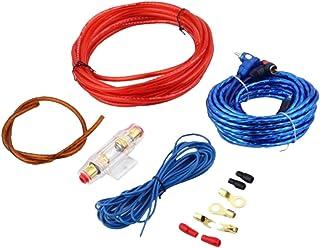 gazechimp Kit De Instalação Do Subwoofer Do Amplificador Do Fio Do Cabo Do Alto-falante Do áudio Do Carro