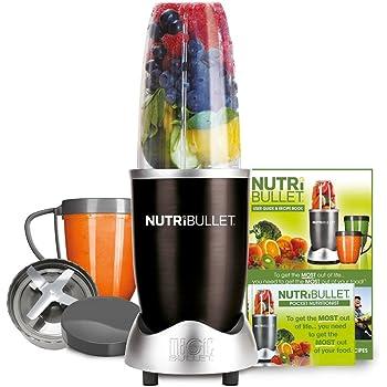 NUTRiBULLET 600 Series - Nutrient Extractor High Speed Blender - 600W 8 Piece Set - Black