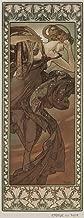 The Stars C (Evening Star) (artist: Mucha, Alphonse) France c. 1902 - Vintage Advertisement (12x18 Art Print, Wall Decor Travel Poster)