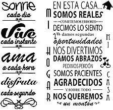 Pegatinas Decorativas Pared Frases Motivadoras Pegatina Cita Inspiradora Vinilos Decorativos Frases Cortas Español Adhesiv...