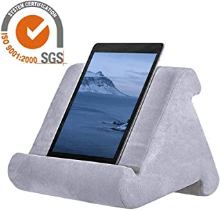 iPad Pillow Holder for Lap Tablet Pillow Holder Reading in Bed, Universal Phone & iPad Pillow Holder Stand for Lap, Knee, Desk, Sofa, Floor
