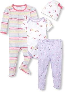 The Children's Place Baby Girls Unicorn Sleepwear Set