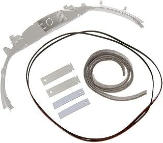 Dryer Bearing Kit 1 Bearing WE3M26, 2 Dryer Slides WE1M481 / WE1M1067, 2 Dryer Slides WE1M333 / WE1M504, 1 Belt WE12M29, 1 Felt WE9M30 / WE09X20441