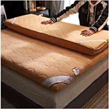 Tatami Mattress, Keep Warm in Winter Warm Thick Bedroom Mattress Student Dormitory Single Double Bed Sponge Mat Thickness ...