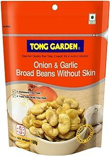 Tong Garden Onion & Garlic Broad Beans, 160g