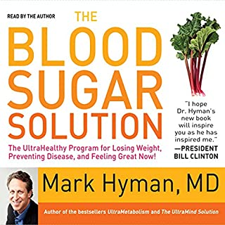 The Blood Sugar Solution audiobook cover art