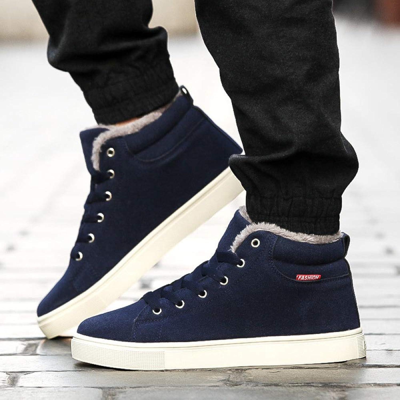 Stiefel Herbst Und Und Winter Herren Plus Größe Plus Baumwolle Schuhe, Mode Einfach Wild Plus Samt Schuhe, Abriebfeste Rutschfeste Schuhe  Kaufen Sie 100% authentische Qualität