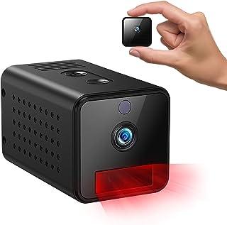 IHOUMI [Larga duración de la batería] Cámaras espía Oculta, Mini Camaras Espias 1080P HD, IR Visión Nocturna Detector de M...