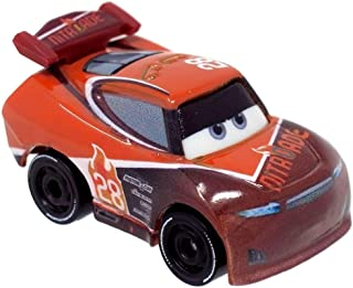 Disney Pixar Cars Mini Racers #4 Jackson Storm Glow In The Dark Metal Vehicle