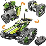 STEM Toys Remote Control Building Sets for Boys 8-12 Years Old, 3-in-1 RC Engineering Kit Builds...