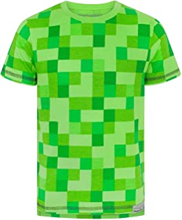 Minecraft All Over Creeper Boy's T-Shirt