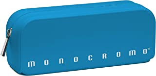 Pigna Monocromo Astuccio formato Bustina in Silicone, Azzurro Fluo