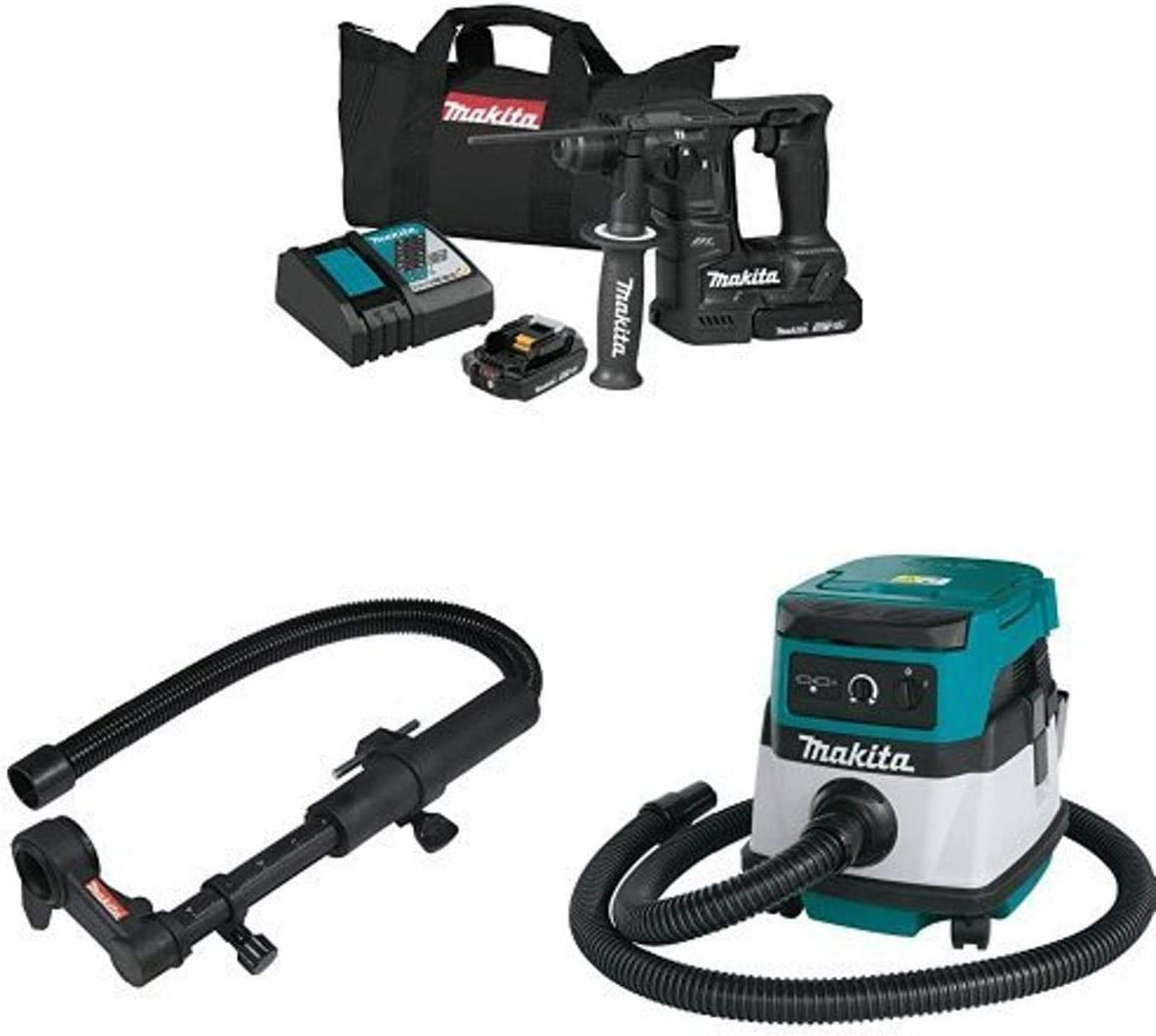 5% OFF Complete Free Shipping Makita XRH06RB 18V LXT Sub-Compact 16-Inch H Brushless 11 Rotary