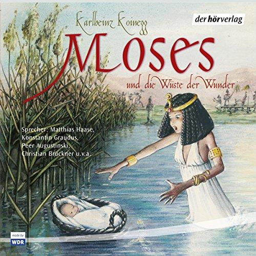 Moses und die Wüste der Wunder audiobook cover art