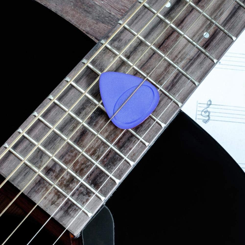 Dilwe Guitar Pick Plectrum 10 Pcs Guitar Pick Holder Plectrum Musical Instrument Accessory 0.46mm-1mm Thickness
