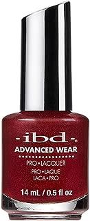 IBD Advanced Wear Pro Lacquer, Brandy Wine, 0.5 Fluid Ounce