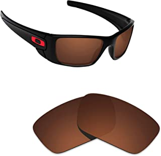 Alphax Polarized Replacement Lenses for Oakley Fuel Cell OO9096 - Multiple Options