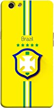ColorKing OPPO F1S Football Yellow Case shell cover - Fifa Brazil 01