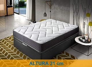 Relaxing-Confort Colchon de 150x200 viscoelastico-Grafeno, Espuma