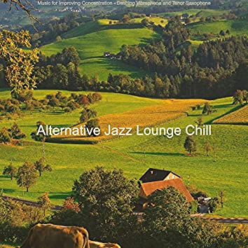 Music for Improving Concentration - Dashing Vibraphone and Tenor Saxophone