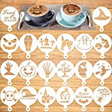 Konsait Halloween Cookie Template Stencils,...