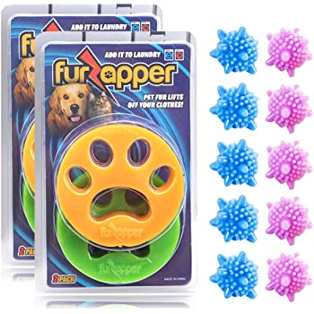 Poils Animaux Nettoyage Outil emp/êchant les v/êtements de nouer DMFSHI anti poil machine /à laver Boule de lavage de linge r/éutilisable 14 PCS pour attraper les poils de chien et de chat