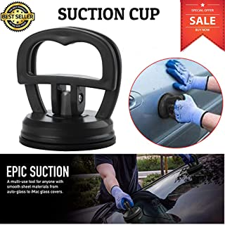 Glumes Suction Cup Dent Puller Handle Lifter Automotive Suction Cup Panel Remover Tool Handle Glass Repair Kit for Truck Car Van Phone Screen Car Dent Handle Lifter Laminate Repair