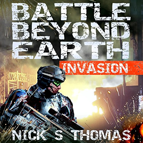 Battle Beyond Earth: Invasion audiobook cover art