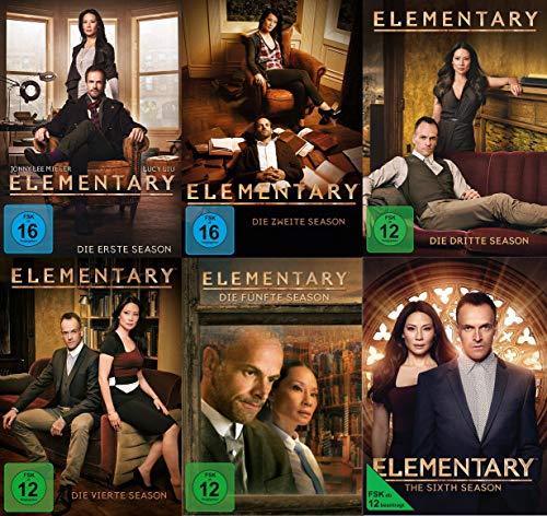 Elementary - Die kompletten Staffeln 1+2+3+4+5+6 im Spar Set 36 DVDs
