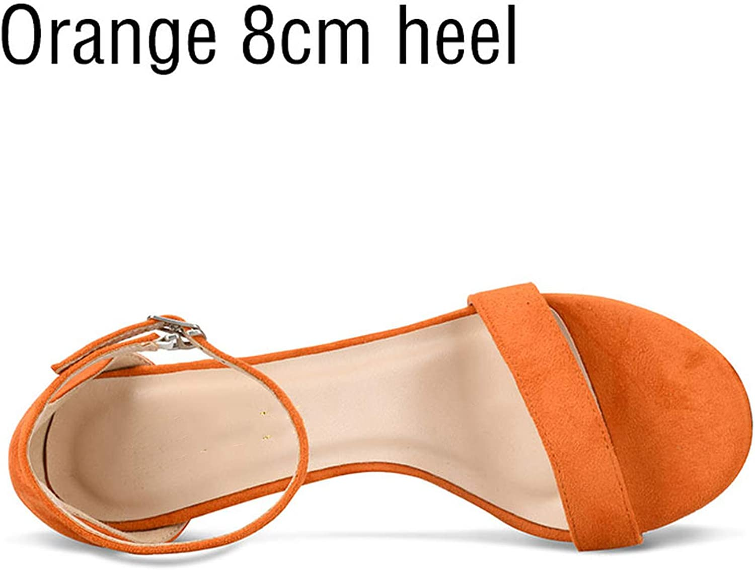 Milk Maniac Women shoes Sandals High Heels Sexy Summer Lace-up Flock Party Round Toe Handmade