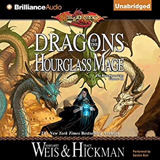 Dragons of the Hourglass Mage audiobook cover art
