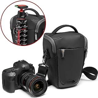 Manfrotto MB MA2-H-M Advanced² - Funda tamaño M para cámaras DSLR y sin Espejo con Objetivo estándar con Enganche para trípode Correa de Hombro extraíble Tela revestida