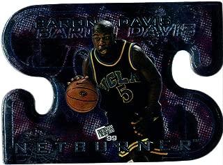 1999-00 Press Pass Net Burners #NB3 Baron Davis Basketball UCLA Bruins Hornets