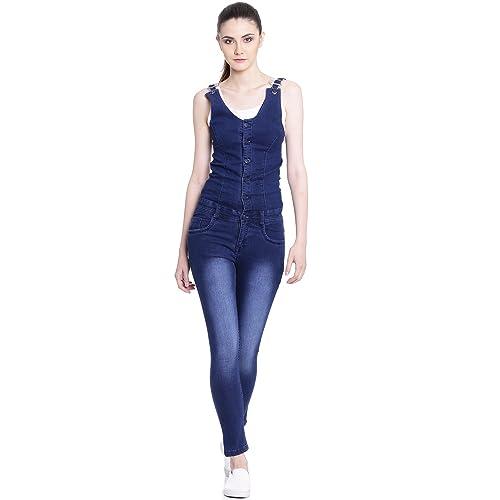 708c9e6741e Denim Jumpsuit  Buy Denim Jumpsuit Online at Best Prices in India ...