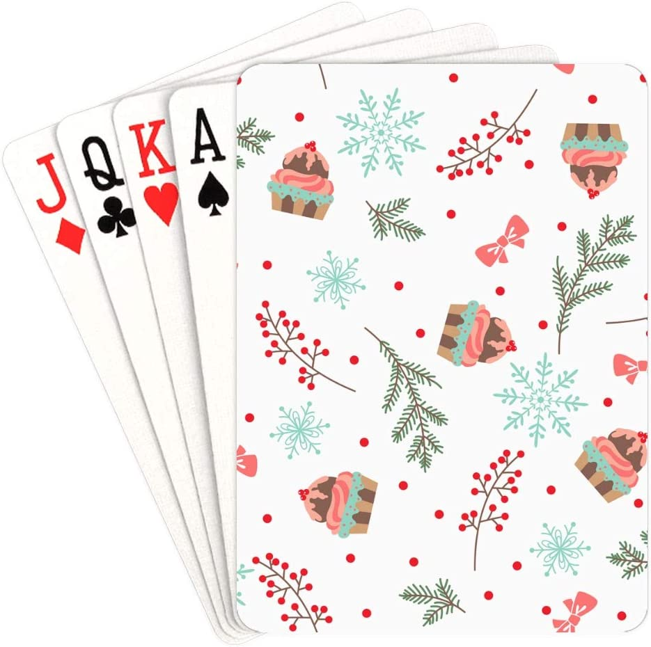 Store WUTMVING Playing Cards Sale price for Teens Holly Winter Christmas Berries
