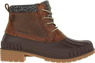 Kamik Women's Evelyn4 Low Cut Boots Cognac 7