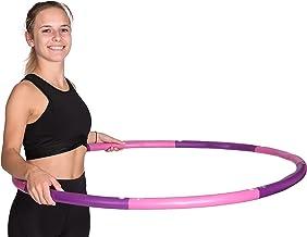 Hoopomania Light Hoop, Hula Hoop 1,2 kg, meerkleurig (roze, violet)
