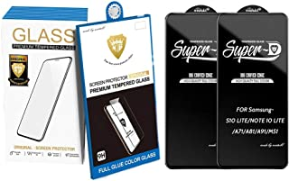 Compatible Samsung Galaxy A71/S10 LITE/NOTE 10 LITE/A81/A91/M51 Tempered Glass Screen Protector, [2 Pack] Premium Quality ...