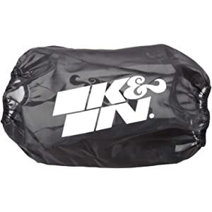 For Your K/&N 25-5166 Filter K/&N RC-5166DK Black Drycharger Filter Wrap