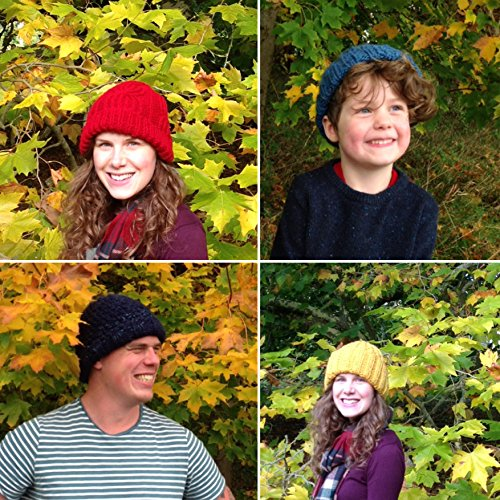 7 Easy Knitted Beanie & Knit Hat Patterns (Easy Weekend Project) (English Edition)