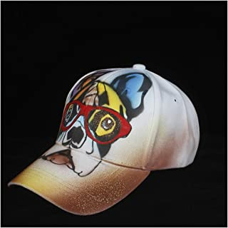 SHENTIANWEI 100% Cotton Men Women Fashion Baseball Hat Printed Hat Hip Hop Hat Outdoor Sport Hat Size 56-60CM