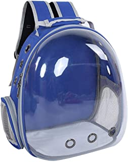 Sugoyi Cat Capsule Backpack, 1Pc Cat Portable Backpack Capsule Space Transparent Breathable Pet Cage Carrying Bag