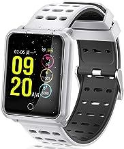 Fitness Tracker Smart Watch with Heart Rate Sleep Monitor HD Screen Smart Bracelet Waterproof Step Calorie Walking Activity Tracker Wrist Watch for Men Women Valentine's Day Birthday Gifts