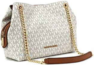Best michael kors white signature bag Reviews