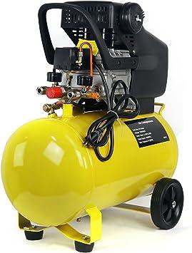 Stark Portable Quiet Air Compressor 10-Gallon Tank 3.5HP Air Compressortra Quiet Compressor w/Wheel: image