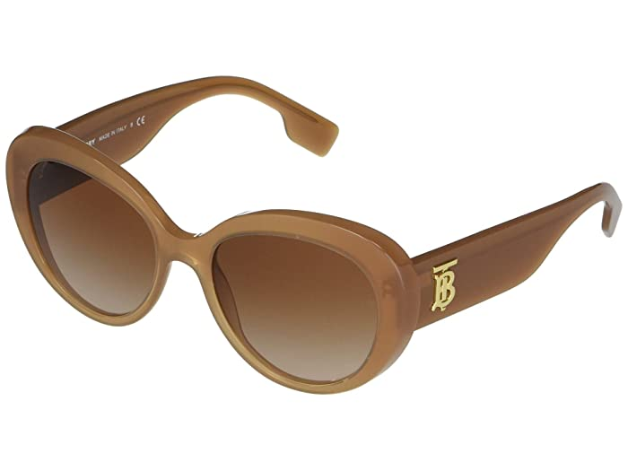 Burberry  BE4298 (Brown/Brown Gradient) Fashion Sunglasses