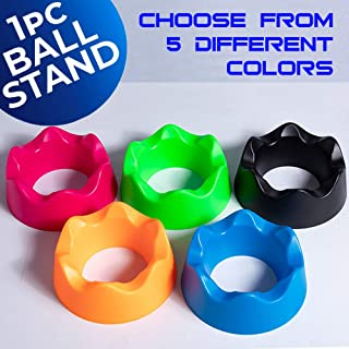 AKA Sports Gear Ball Stand | Ball Cup | Ball Holder for Basketball | Soccer | Football | Bowling
