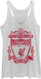 Liverpool Football Club Women's Classic Bird Shield 1892 Racerback Tank Top